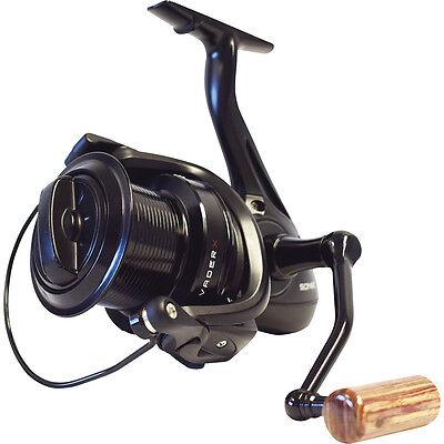 Sonik NEW Vader X Carp Fishing Reel Big Pit SVX8000 2 Free Spools