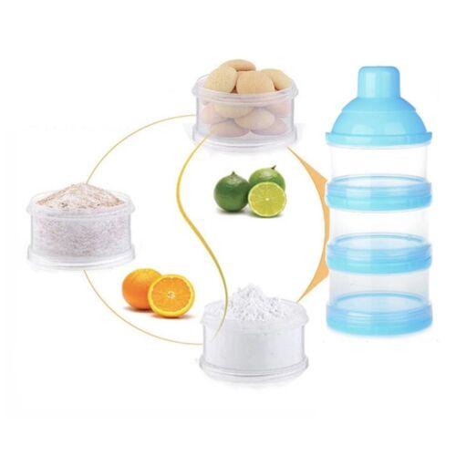 Baby Storage 3 Box Milk Powder Container Container Products Newborn Food