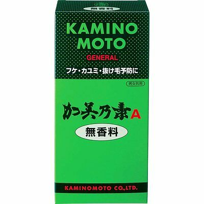 Kaminomoto A Hair Growth Tonic 200mL Fragrance free from Japan
