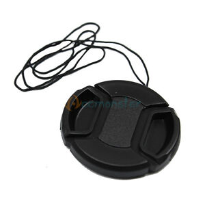 NEW 52mm Center-Pinch Snap-On Front Lens Cap for Nikon LC-52
