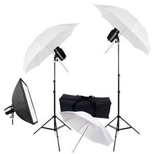 3x-33-Umbrella-Softbox-Strobe-Flash-Light-Kit-Photo-Studio-Photography-Lighting