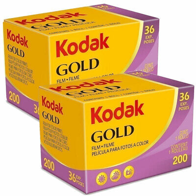 2 x Kodak Gold 200 Film Pack 135 (36 Exposures)