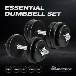 brand new adjustable dumbbells  25kg essential home gym