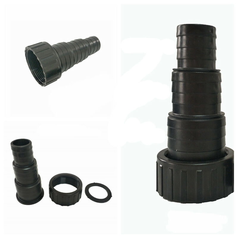 1PC Threaded Submersible Pump Nut Joint Fitting Connector Pond Boat