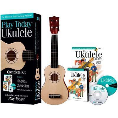 HAL LEONARD-PLAY TODAY UKULELE-KIT-STARTER -