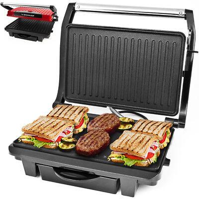 Dunlop® Tischgrill Elektrogrill Kontaktgrill Sandwichmaker Panini Maker Grill