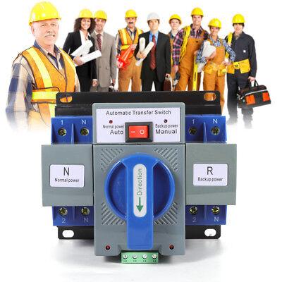 63a 2p Mini Dual Power Automatic Transfer Switch 5060hz Cb Level 150137118mm