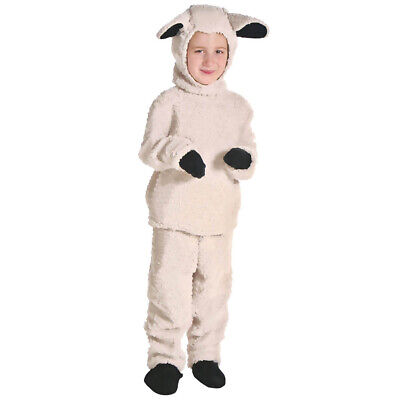Kids Girls Boys Little Sheep Wild Animal Book Day Fancy Dress Up Costume Outfit