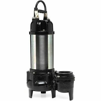 Little Giant Wgfp-200 - 250 Pgm 2-hp 3 Submersible Stainless Steel Water F...