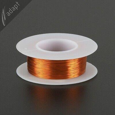 Magnet Wire, Enameled Copper, Natural, 32 AWG (gauge), 200C, ~1/8 lb, 613 ft