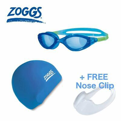 2aecceccb94a Zoggs panorama Clear Lens Swimming Goggles blue clear