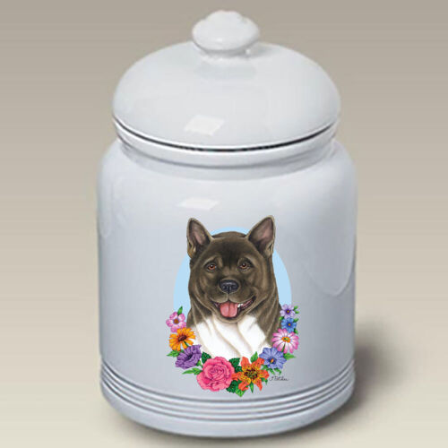 Akita Ceramic Treat Jar TP 47098