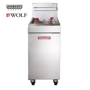 New Commercial Gas Deep Fryers on Sale - Vulcan LG 300/400/500