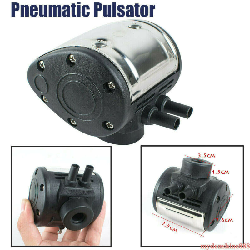 New L80 Pneumatic Pulsator for Cow Milker Milking Machine Dairy Farm Cattle Home
