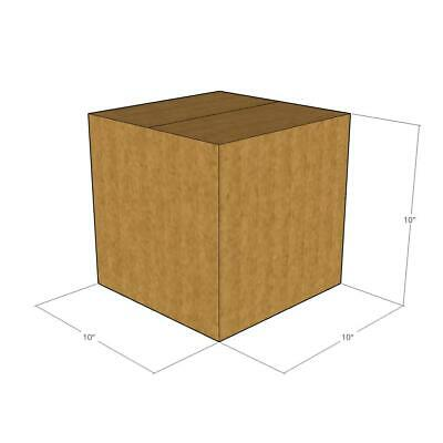 25 - 10x10x10 44 Ect Heavy Duty New Corrugated Boxes