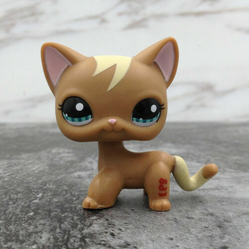 LPS Littlest Pet Shop 1170 Short Hair Cat Kitty Gift For Kid Toy Doll