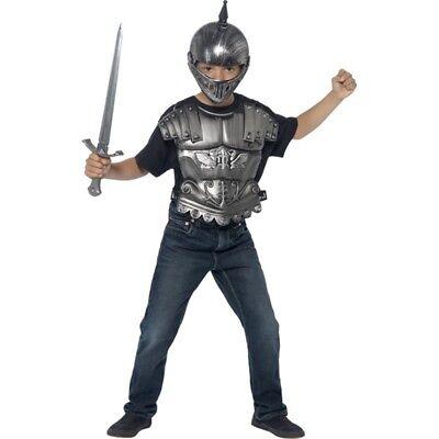 Medieval Helmet - Fancy Dress Armour Sword Boys Knight Costume Childs Accessory](Kids Knight Helmet)