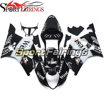 West Black White Fairings for Suzuki GSXR1000 2003 2004 Bodywork K3 03 04 Panels