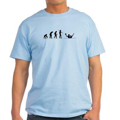 - CafePress Water Polo Evolution Light T Shirt 100% Cotton T-Shirt (452233632)