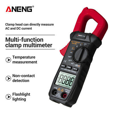 Aneng Digital Clamp Multimeter St209 6000 Counts Meter Ammeter Test Acdc Zb