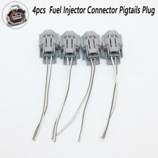 4XFuel Injector Connector Pigtail Wire For Toyota Nissan