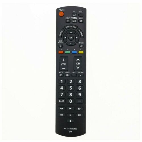 """New Tv Remote N2qayb000485 For Panasonic 32""""~85"""" Tv N2qayb000321 N2qayb000570"""