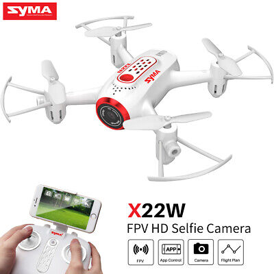 Syma X22W RC Drone Quadcopter WIFI FPV HD Camera  2.4G 4CH 6Axis Gyro Toy Gift