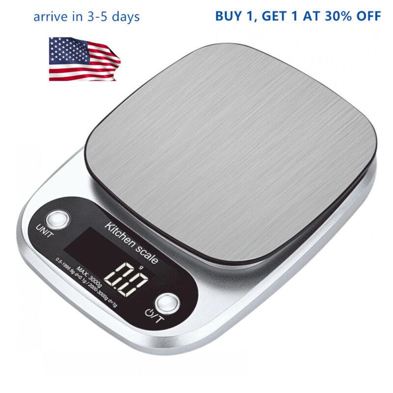 US Function Stainless Steel Digital  Food Baking Weight Food