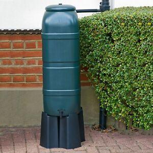 slim line 100l water butt kit including tap stand diverter. Black Bedroom Furniture Sets. Home Design Ideas