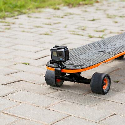 Extension Supporto Bicicletta Skateboard Moto per GoPro Hero Adesivo Stand