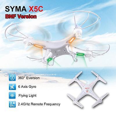 High Quality SYMA X5C 4CH 6-Axis RC Quadcopter Drone NO Camera & Transmitter