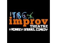 Every Sunday The TBC Improv Theatre presents the best acts from the Scottish Improv scene.
