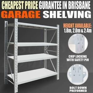 New HD Long Span Warehouse Garage Shelving Tyre Rack From $99! Carindale Brisbane South East Preview