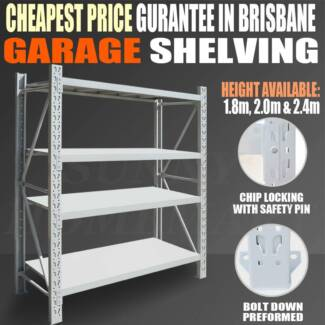 New Garage Shelving series starting from $105! 1.2m *1.8m *0.5m Richlands Brisbane South West Preview