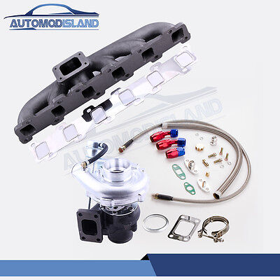 For Nissan Safari Patrol 4.2L TD42 Y60 Turbo Charger exhaust Manifold oil line