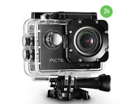 HD 1080P Waterproof Action Sports Camera, Motorcycle Cyclist Helmet Cam