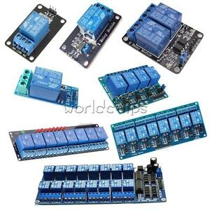 5V-1-2-4-6-8-Channel-Relay-LED-Module-Board-Optocoupler-for-Arduino-PiC-ARM-AVR