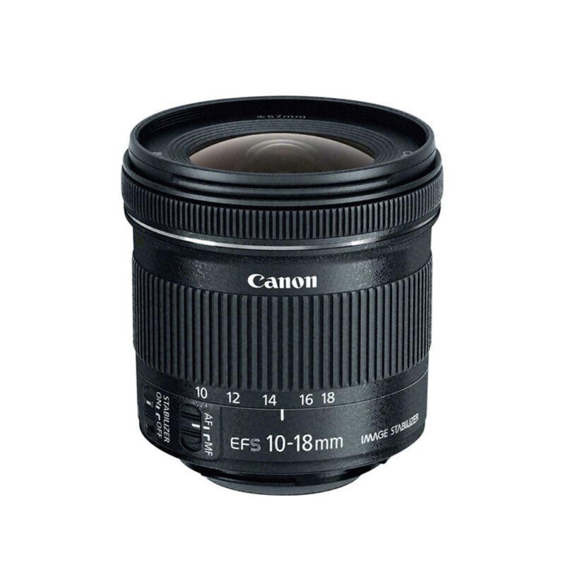 Canon EF-S 10-18mm f/4.5-5.6 IS STM Lens for Digital SLR Camera