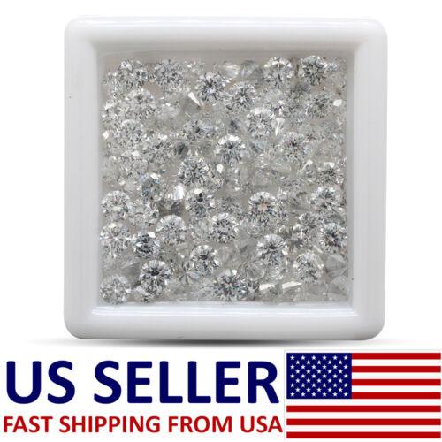 2.9mm 0.90 Loose Moissanite Lab Grown Brilliant VVS / E to G Passes Diamond TEST