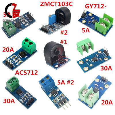 5a20a30a Range Acs712gy712zmct103c Current Sensor Module For Arduino