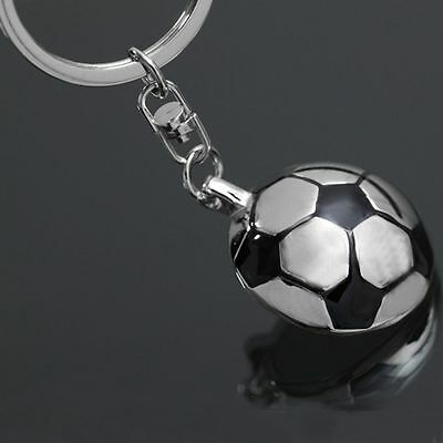 Sports  Souvenir Team Gifts Keyring Chain Metal Keychain Soccer Half Ball