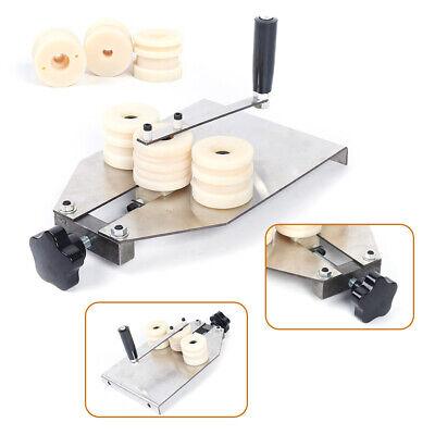 Manual Aluminum Strip Bending Machine Hollow Alu Bar Bender W 2x Mold Workshop