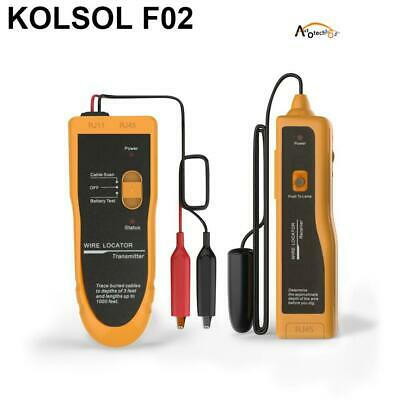 Kolsol Underground Wire Locator Cable Tester F02 With Earphone For Locate Wires