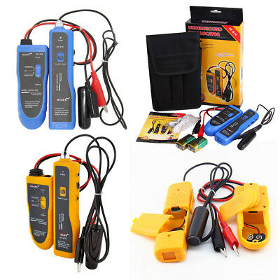 Underground Wire Locator Multifunctional Cable Tester Tracker 3-1000 Feet