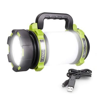 1000LM CREE LED Handscheinwerfer Wiederaufladbar Strahler Camping Laterne