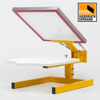 HDT1000 Siebdruckmaschine für T-Shirts | Siebdrucktisch | Siebdruck | Drucktisch