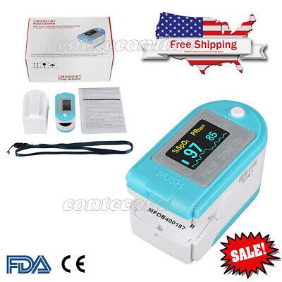 Fda Finger Pulse Oximeter Blood Oxygen Sensor O2 Spo2 Monitor Heart Rate New