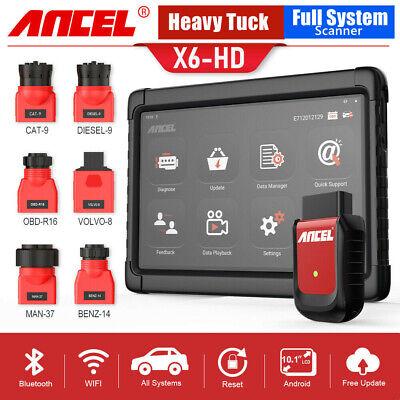 Diesel Heavy Truck Scanner Full System Diagnostic Tool OBD2 Engine Code Reader