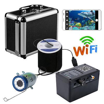 HD Wifi Wireless 30M Underwater Fishing Camera For IOS