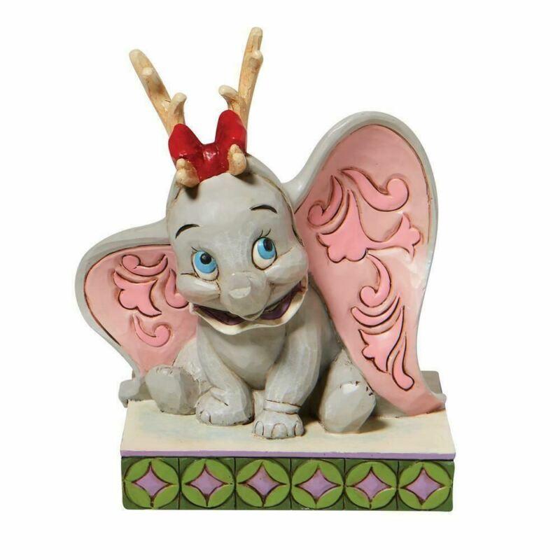 Disney Traditions Dumbo Reindeer Antlers Figurine 6008985